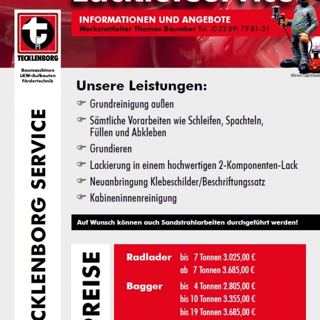 Unser Lackierservice