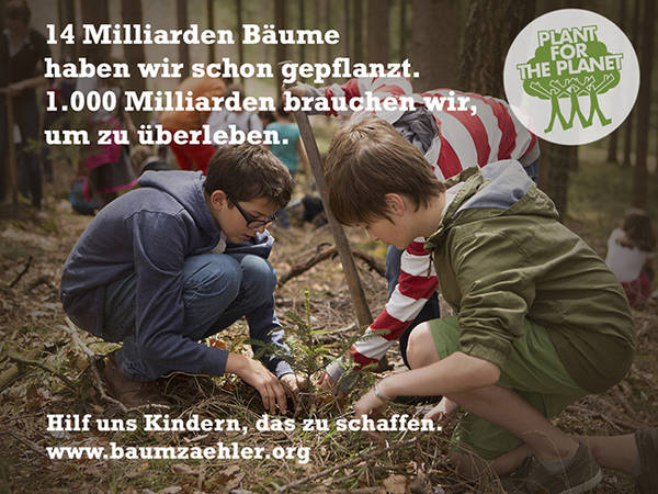 Plant for the Planet mit Tecklenborg
